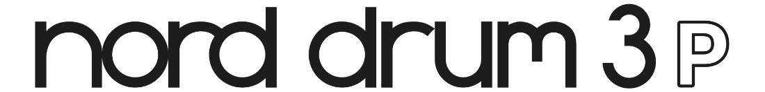 Clavia Nord Drum 3P Logo